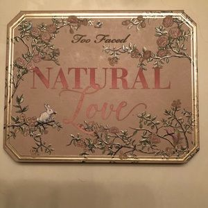 Natural Love Too Faced Eyeshadow Palette